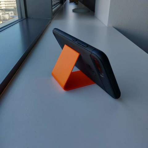 Download free STL file Just a phone stand • 3D printer template, kumekay