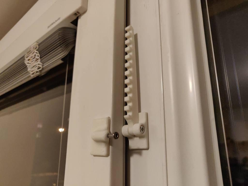 1ee6af00c570de8d742c37c76967eab5_display_large.jpg Télécharger fichier STL gratuit Fermeture de fenêtre élégante (ne nécessite pas de trous dans le cadre de la fenêtre) • Modèle pour imprimante 3D, kumekay