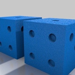 Download 3D printer designs Dice, KEVINKONITZER
