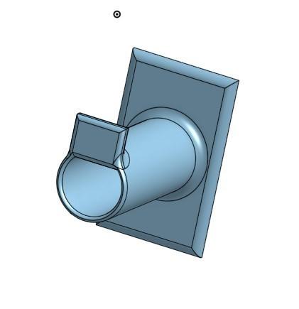 Screenshot_2.jpg Download free STL file Small Spool holder for 10m Filament • 3D printing object, jaxi666