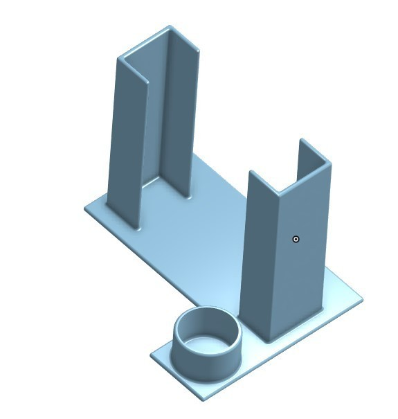 Screenshot_2.jpg Download STL file Glue Stick Holder for smaller Print Beds • 3D printer template, jaxi666