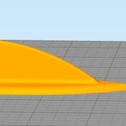 Download 3D printer designs Universal Roof fins, these fit any car roof, made for the local car scene, jaxi666