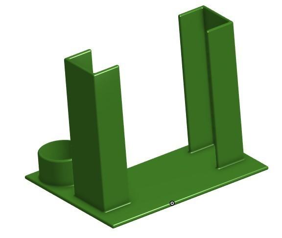 Screenshot_3.jpg Download STL file Glue Stick Holder for smaller Print Beds • 3D printer template, jaxi666