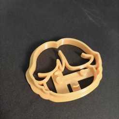 2a35ecc0-2760-48c7-9d22-2ddf25e8d5e5.jpg Download STL file Harry Potter dough cutter Ron Weasly • 3D printer design, nate117s