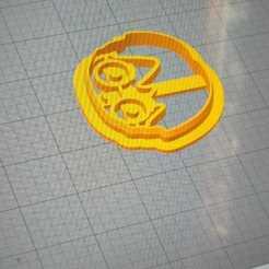harry.jpg Télécharger fichier STL Coupe-pâte Harry Potter • Plan à imprimer en 3D, nate117s