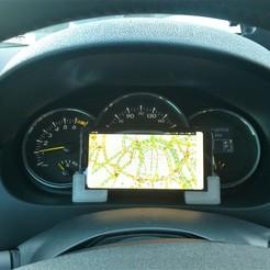 Modèle 3D Porte-téléphone de voiture, tipaaetaa