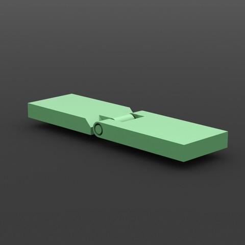 Charnière 2.JPG Download free STL file Hinge / hinge • 3D print design, Ni-no