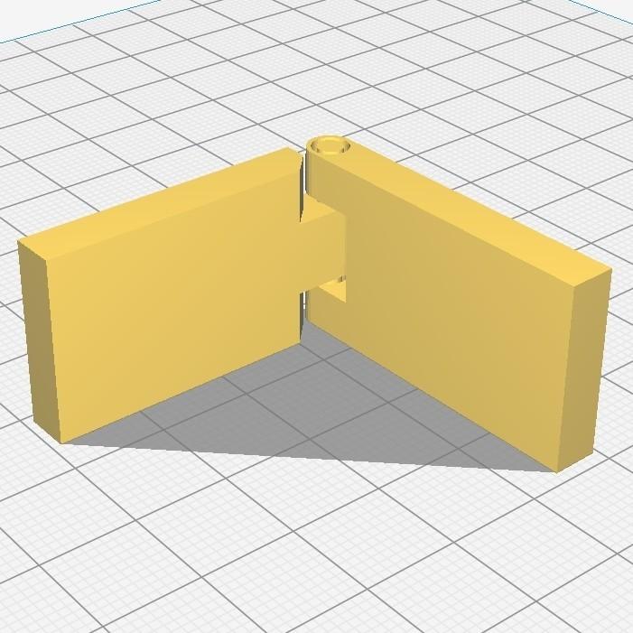 CURA.jpg Download free STL file Hinge / hinge • 3D print design, Ni-no