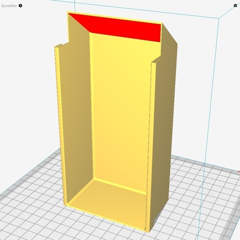 CURA CARRE.jpg Download free STL file Hanging storage drawers • 3D printer model, Ni-no