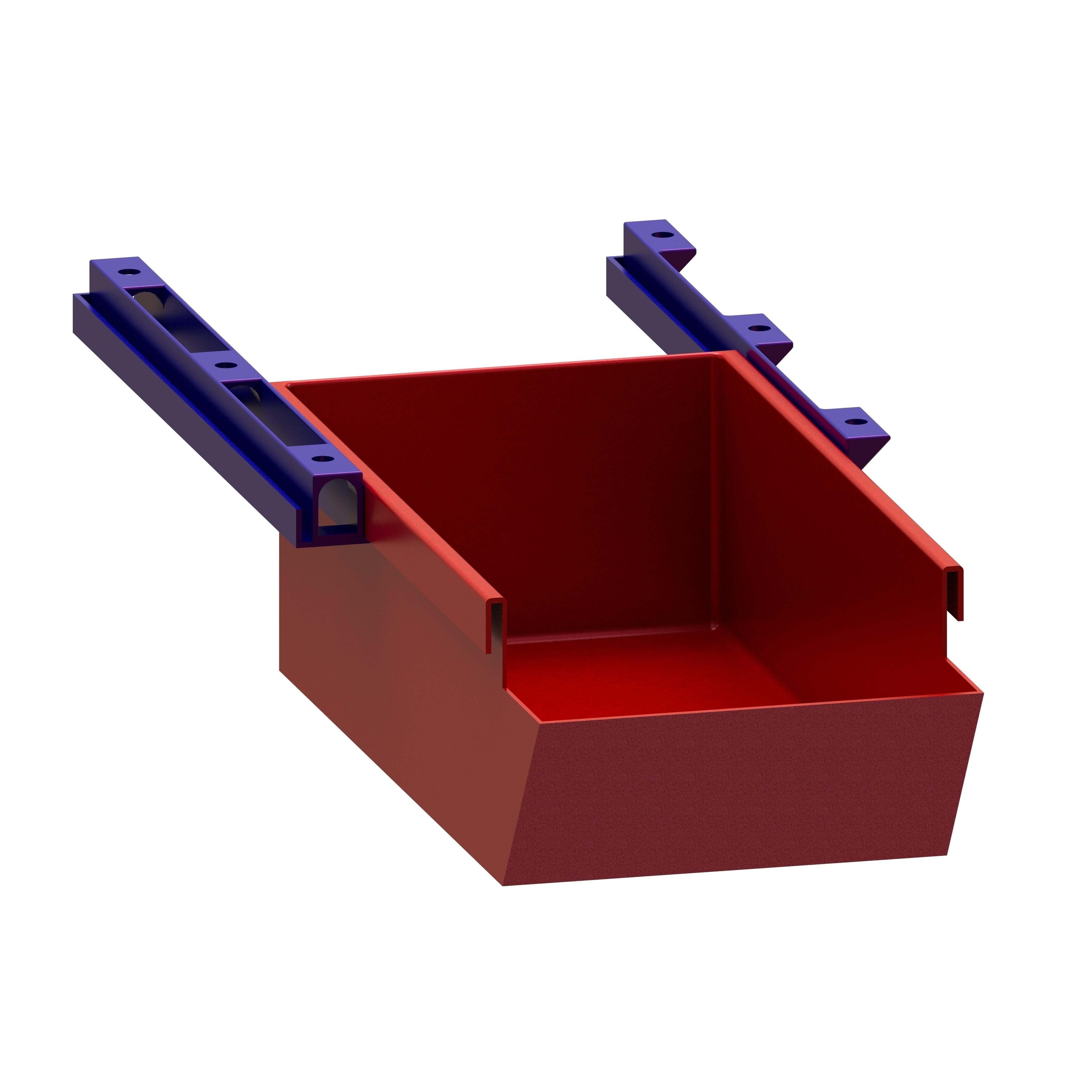 RENDU Assemblage CARRE.JPG Download free STL file Hanging storage drawers • 3D printer model, Ni-no