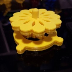 Free 3D printer designs Magnetic Spinner, Zekazz