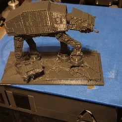 Hoth.jpg Download free STL file Battle of Hoth • Model to 3D print, Zekazz