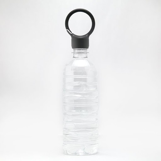 unnamed-5.jpg Download free STL file Carabiner Ring for PET Bottle Caps • 3D printing template, Chiisakobe