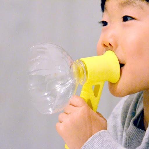 unnamed-20.jpg Download free STL file Megaphone for PET Bottle Caps • 3D printable template, Chiisakobe