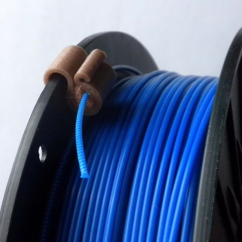 Download free 3D printing files 1.75...3.0 mm Filament Clip with filter, 3DLadnik