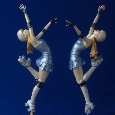 Descargar STL gratis Baile de la Victoria!, 3DLadnik