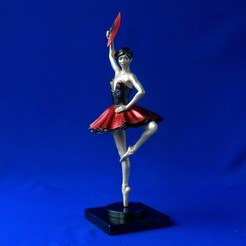 Download 3D printing templates Ballerina 4, 3DLadnik