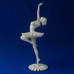 Ballerina-07.JPG Download OBJ file Ballerina • 3D printer design, 3DLadnik