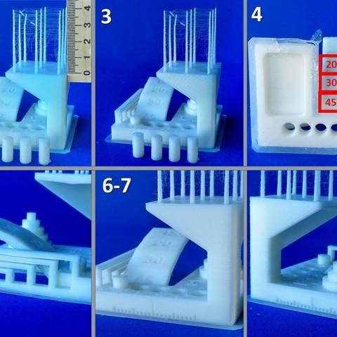 """ksr_fdmtest_v4-Ladnik-05.JPG Télécharger fichier STL gratuit Remixer le test de modèle """"kickstarter-autodesk-3d-master"""" qui élimine les difficultés inutiles en réalisant le test . • Design imprimable en 3D, 3DLadnik"""