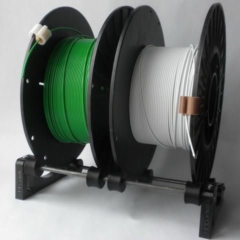 Download free 3D print files Universal Spool Holder, 3DLadnik