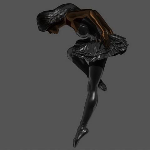 3D print files Black Swan, 3DLadnik