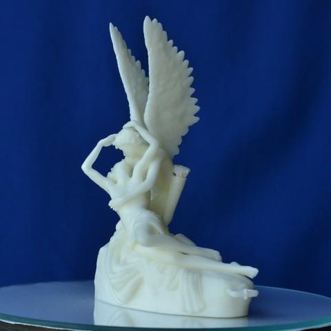 PsycheRevivedByCupid-002.JPG Télécharger fichier STL gratuit Psyche Revived by Cupid's Kiss au Louvre, Paris (remix) • Plan pour imprimante 3D, 3DLadnik