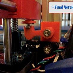 Download free 3D printer designs Z stop Adjuster  - Max Micron (Prusa i3 clones), Thomllama