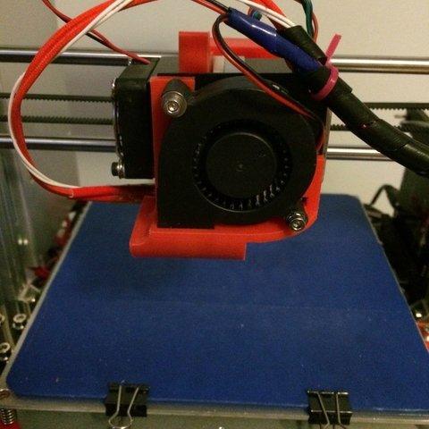 16ed6f2bd44fe7fd7d41616d906cf745_display_large.jpg Télécharger fichier STL gratuit Pièces Modifiées Carénage de ventilateur - Max Micron et autres Prusa i3 • Modèle à imprimer en 3D, Thomllama