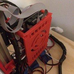 Imprimir en 3D gratis Cubierta de la tarjeta de control Max Micron, Thomllama