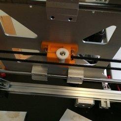 Télécharger objet 3D gratuit Chariot à tension réglable (Max Micron et autres Prusa i3), Thomllama