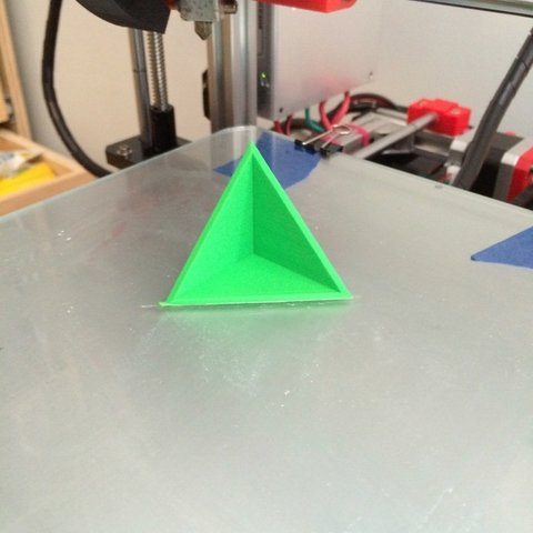 Download free 3D printer designs Triangle Square, Thomllama