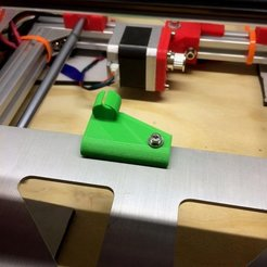 Download free STL files Y Bed wire management (Prusa i3 and clones), Thomllama