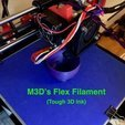 Download free 3D printer model Flex Filament Direct Drive Extruder (Max Micron and other Prusa i3's ), Thomllama