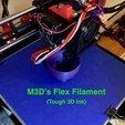 Télécharger fichier imprimante 3D gratuit Extrudeuse à entraînement direct à filament flexible (Max Micron et autres Prusa i3's), Thomllama