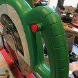 Download free 3D printer files Hitachi Miter Saw safety button, Thomllama