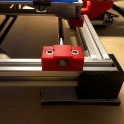 Imprimir en 3D gratis Portacañas de 8MM para el bastidor 2020, Thomllama