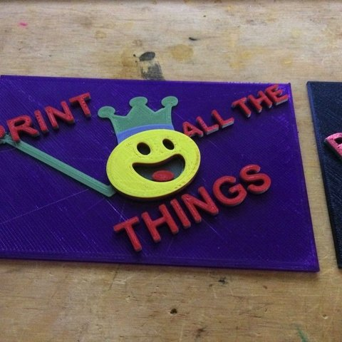 Download free 3D printing models FunKing3D- Print all the things, Thomllama