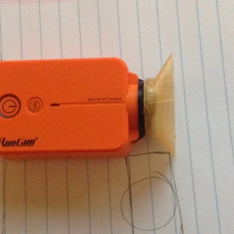 Free 3D printer model Runcam2 Sunshade (attempt2- WIP), Thomllama