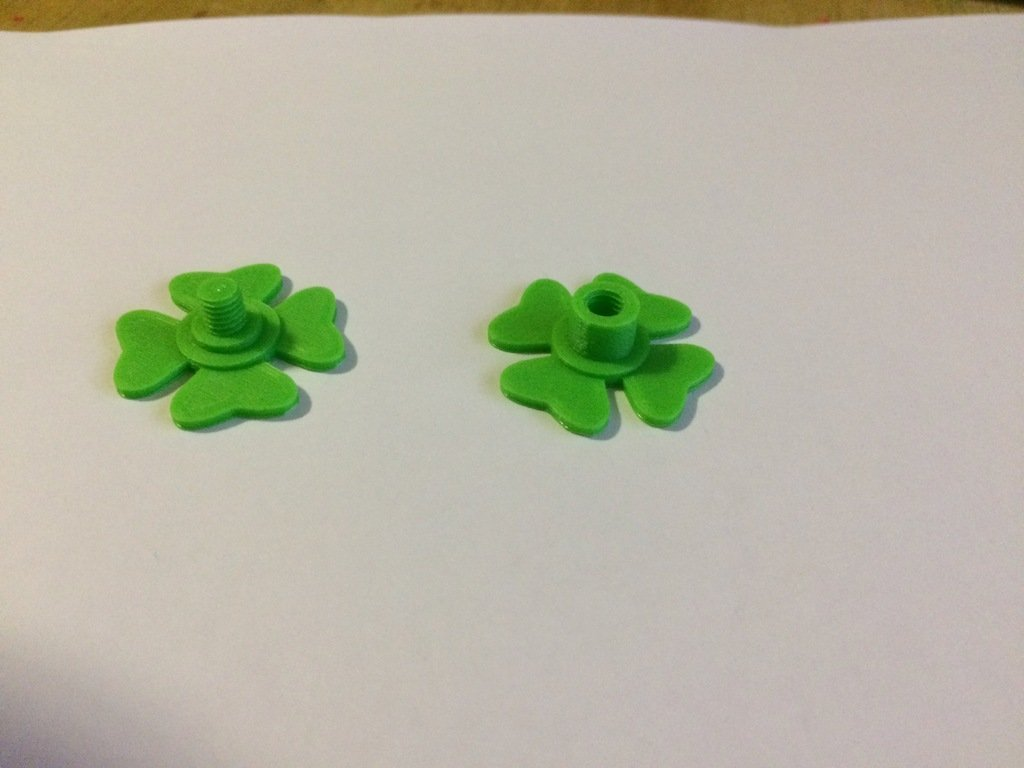 c2656bc19eb5532c4b27d147aacc0ae1_display_large.jpg Download free STL file Four Leaf Clover Finger pads for fidget spinners • Template to 3D print, Thomllama