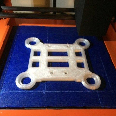 Free 3D printer designs Tarantula X6 adaptor for WLtoys Vibe mount, Thomllama