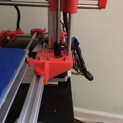 Download free 3D printer model Z Motor Mounts (Max Micron and other Prusa i3 clones), Thomllama