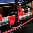 Download free STL file Y Bed Wire Management (20/20 Alum frame) • 3D printing model, Thomllama