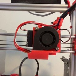 Télécharger objet 3D gratuit Ventilateur avec Wire Management - Max Micron et autres Prusa i3, Thomllama