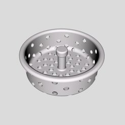 Download free STL files Sink Strainer, Thomllama
