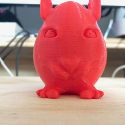 Free 3D printer designs BunnyEgg, Thomllama