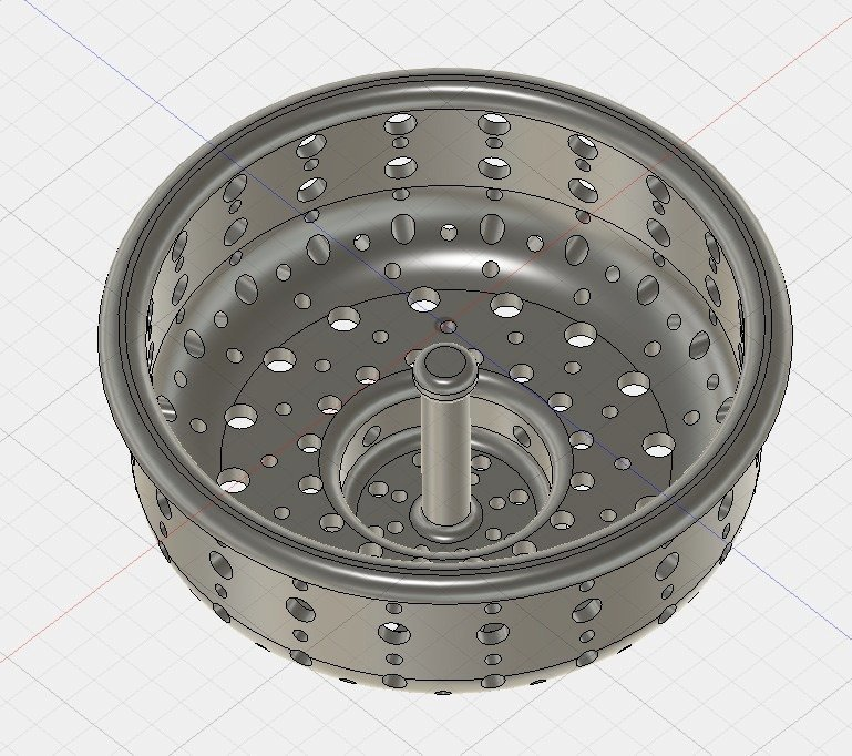 32f56bd271dee90c2eafd9527a7730e7_display_large.jpg Download free STL file Sink Strainer • 3D printing object, Thomllama