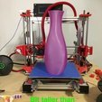 Download free 3D printing designs Lightly Twisted Tall Vase, Thomllama