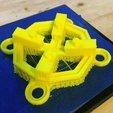 Free 3D print files YiZhan/JJRC X6 body-15º rise arms-anti Vibe Mount, Thomllama