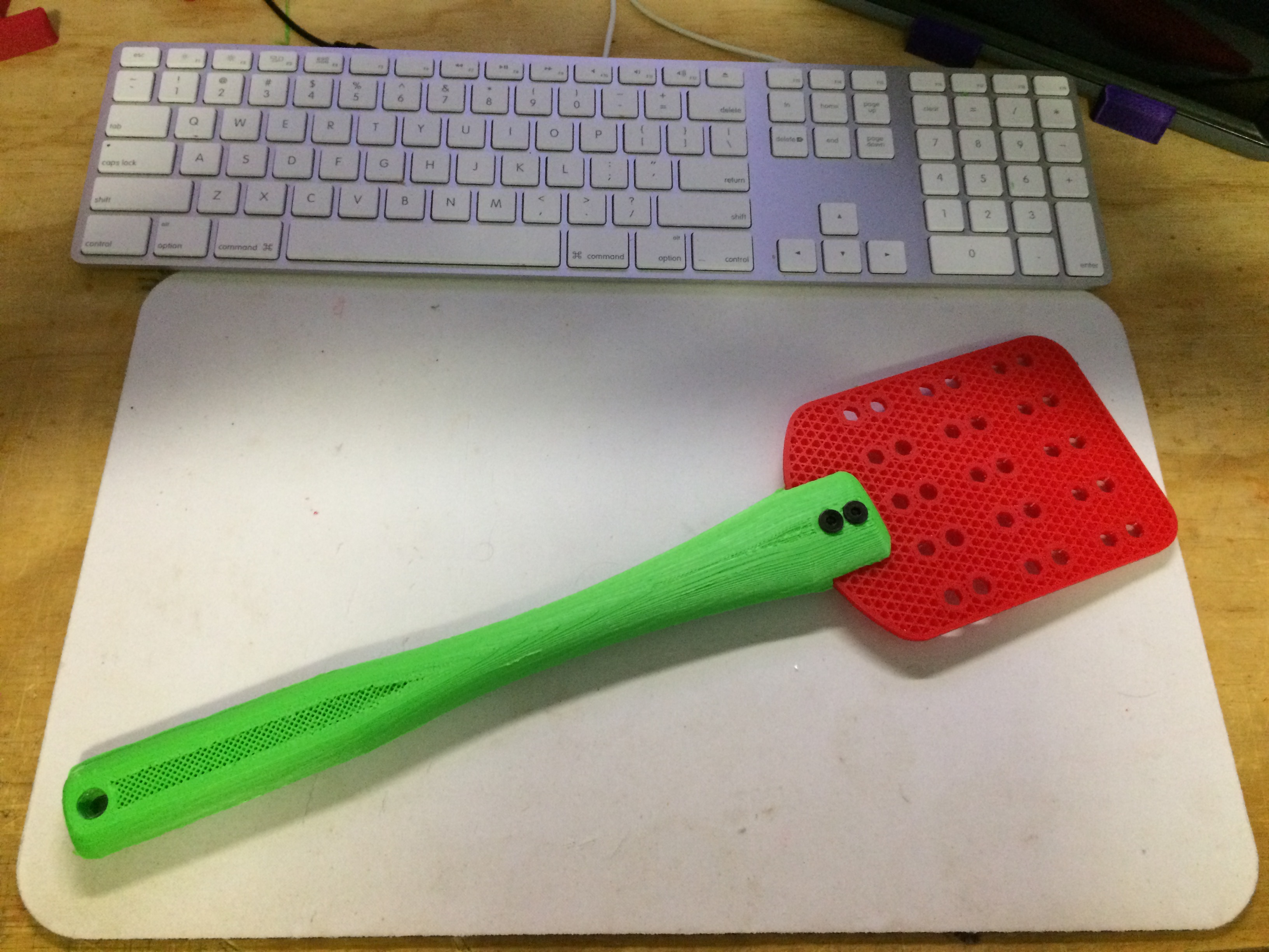 Swatter.jpeg Download free STL file Fly Swatter • 3D printing object, Thomllama