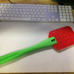 Download free 3D printing designs Fly Swatter, Thomllama